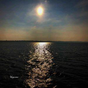 Lumière dans l'eau